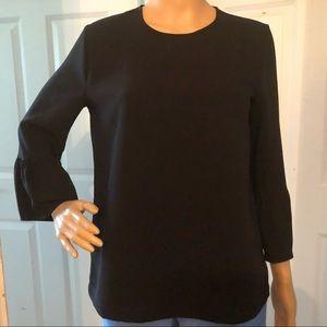 Madewell Black long sleeves blouse